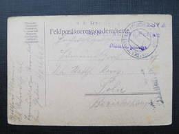 Feldpostkorrespondenzkarte Sternthal Bei Pettau Kriegspital 1916  //  D*36668 - 1850-1918 Imperium