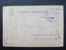 Feldpostkorrespondenzkarte Sternthal Bei Pettau Kriegspital 1916  //  D*36668 - Briefe U. Dokumente
