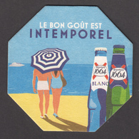 Canada, 2019, Sous-bock, Bière, Beer, 1664, Plage, Beach - Sous-bocks