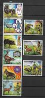 PARAGUAY 1982 75° ANNIVERSARIO DELLO SCOUTISMO YVERT. 1926-1931+POSTA AEREA 897-899 USATA VF - Paraguay