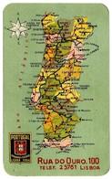 """COMPANHIA De SEGUROS """" PORTUGAL """" - 1939 - Pocket Calendar - Calendarios"""