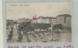 CPA ITALIE LIVERNO Piazza Mazzini  Fev  2019 013 - Livorno