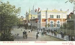 """CPA TURQUIE """"Constantinople, La Gare"""" - Turquie"""