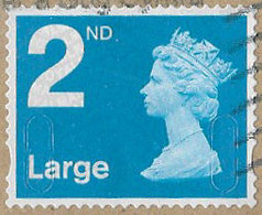 GB SG U2959 2013 Machin 2nd Large MA13 MAIL Good/fine Used [39/31919/ND] - 1952-.... (Elizabeth II)