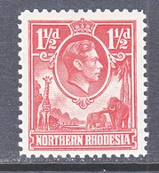 NORTHERN  RHODESIA  29  ** - Northern Rhodesia (...-1963)