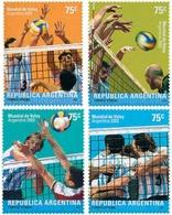 Ref. 114359 * MNH * - ARGENTINA. 2002. CAMPEONATO DEL MUNDO DE WATERPOLO - Stamps