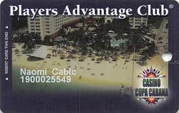 Casino Copa Cabana At Hyatt Regency Aruba Slot Card  .....[FSC]..... - Casino Cards