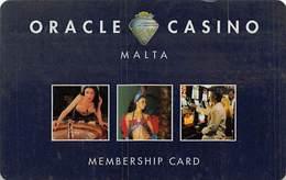 Oracle Casino - Malta - Slot Card   .....[FSC]..... - Casino Cards