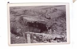 GUERRE 39 45 Ww2  Carte Photo Destruction Avancee  Americaine  Blockhaus Bunker  Belgique   France - Weltkrieg 1939-45