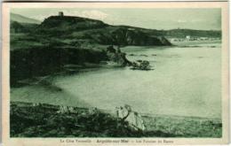 61kst 1424 CPA - ARGELES SUR MER - LES FALAISES DU RACON - Argeles Sur Mer