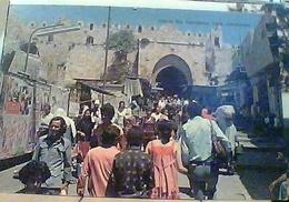 ISRAEL JERUSALEM DAMASCUS GATE ANIME N1975 HA7750 - Israele