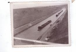 GUERRE 39 45 Ww2  Carte Photo Destruction Avancee  Americaine Canal Peniches 2   Belgique  France - Guerra 1939-45