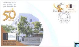 Sri Lanka Stamps 2018, National Science Foundation, Special Commemorative Cover - Sri Lanka (Ceylon) (1948-...)