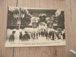 CPA 51 Marne Reims Fête De La Corporation Des Tonneliers Et Ouvriers Des Caves 1903 Maison Bary - Reims