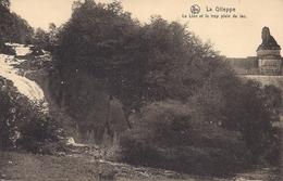 LA GILEPPE LE LION ET LE TROP PLEIN DU LAC - Gileppe (Stuwdam)