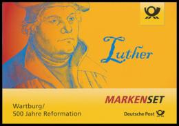 BRD MiNr. MH 107 (3300,3310) ** Luther, Marken-Set, Nassklebend, Postfrisch - BRD