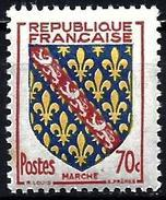 France 1955 - Coat Of Arms Of Marche ( Mi 1073 - YT 1045 ) MNH** - Ongebruikt