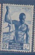 A  E  F        N°  YVERT  :    222   NEUF AVEC  CHARNIERES      ( Ch 1/08  ) - A.E.F. (1936-1958)