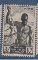 A  E  F        N°  YVERT  :    223   NEUF AVEC  CHARNIERES      ( Ch 1/08  ) - A.E.F. (1936-1958)
