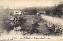 UN COIN DU LAC DE LA GILEPPE - RESTAURENT DU BARRAGE - Gileppe (Stuwdam)