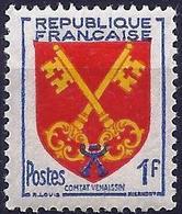 France 1955 - Coats Of Comtat Venaissin ( Mi 1075 - YT 1047 ) MNH** - Ongebruikt