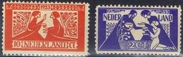 DO7400  NEDERLAND SCHARNIER  YVERT NRS 131/132 ZIE SCAN - Neufs