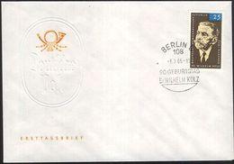 DDR 1965 Mi-Nr. 1121 FDC - FDC: Briefe