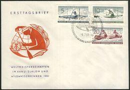 DDR 1961 Mi-Nr. 838/40 FDC - DDR