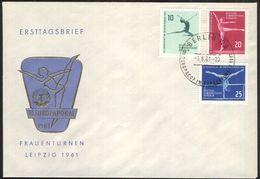 DDR 1961 Mi-Nr. 830/32 FDC - DDR