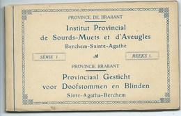 Berchem Ste Agathe Institut Provincial Sourds-Muets ( 9 Cartes ) - Berchem-Ste-Agathe - St-Agatha-Berchem
