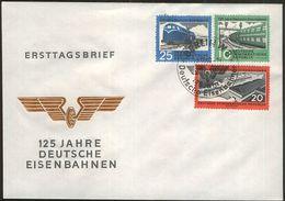 DDR 1960 Mi-Nr. 804/06 AC FDC - DDR