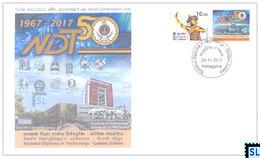 Sri Lanka Stamps 2017, National Diploma In Technology, NDT, Special Commemorative Cover - Sri Lanka (Ceylon) (1948-...)