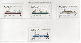 Malta - 1987 - Navi Maltesi - 5^ Serie - 4 Valori - Nuovi - Vedi Foto - (FDC14130) - Malta