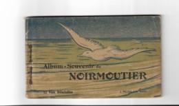 85 Ile De Noirmoutier, Carnet Complet De 12 Cartes, Le Gois, Le Vapeur De Pornic, La Récolte De Sel....... - Ile De Noirmoutier