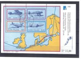 MAH347 FINNLAND 1988  MICHL  BLOCK 4 Used / Gestempelt  ZÄHNUNG Siehe ABBILDUNG - Finnland