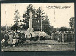 CPA - Pèlerinage De FRELIGNE - Statue Du Jardin De La Vierge, Très Animé - Francia