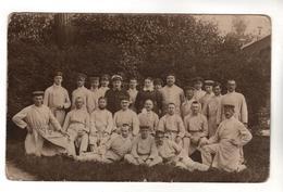 1721,  FOTO-AK, WK I, Feldpost, Lazarett Beverlo - Guerre 1914-18