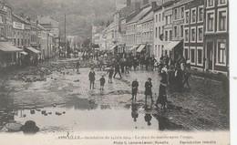 AYWAILLE INONDATIONS DE 1914 PLACE DU MARCHE - Aywaille