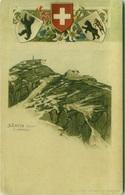 SWITZERLAND - SANTIS 2504 CT APPENZEL - 1900s LITHO EMBOSSED POSTCARD - EDIT WALTER MARTY & CO - ( BG2407) - AI Appenzell Rhodes-Intérieures