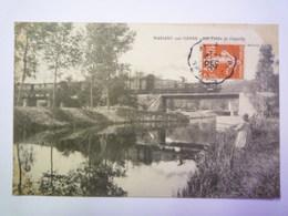 GP 2019 - 28   MARIGNY-sur-YONNE  (Nièvre)  :  Les Ponts De Chazelle  (avec Le TRAIN)   XXX - France
