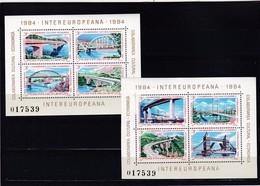 Europa Cept, Mitläufer, Rumänien, Block 202/03**. (K 4030 B) - Europa-CEPT
