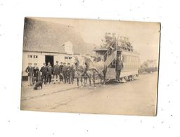 Photo Omnibus Avec Chevaux, - Automobile