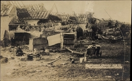 Photo Cp Oppau Ludwigshafen Am Rhein Rheinland Pfalz, Explosion 1921, Zerstörte Austraße - Postcards