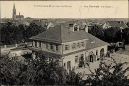 Cp Speyer Am Oberrhein Rheinland Pfalz, Blick Auf Das Infirmerie Hopital, Pavillon C - Germany