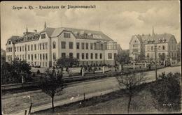 Cp Speyer Am Oberrhein Rheinland Pfalz, Blick Auf Das Krankenhaus Der Diakonissenanstalt - Germany