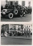 I46 - N° 27 - Automobile - Militaria - Cortège Funéraire - Le Cercueil Déposé Sur Un Dodge WC57 Command Car - Lot 2 Ph. - Cars