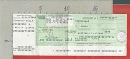 ITALIA - 2000 - ASSEGNO RIMBORSO ENEL - Poste Italiane - Cheques & Traveler's Cheques