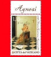 Nuovo - MNH - VATICANO - 2018 - Scienza E Fede - Maria Gaetana Agnesi, Matematica E Benefattrice  - 1.15 - Vaticano