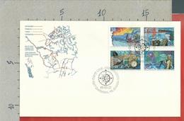 CANADA - FDC - 1989 - Exploration Of Canada - Explorers Of The North - Primi Giorni (FDC)