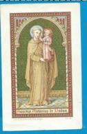Holycard    St. Antonius V. Padua - Santini